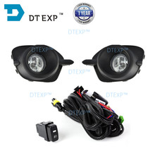 2013 fog lamp set FOR PAJERO SPORT front light MONTERO CHALLENGER with wires bulb switch  8321a144