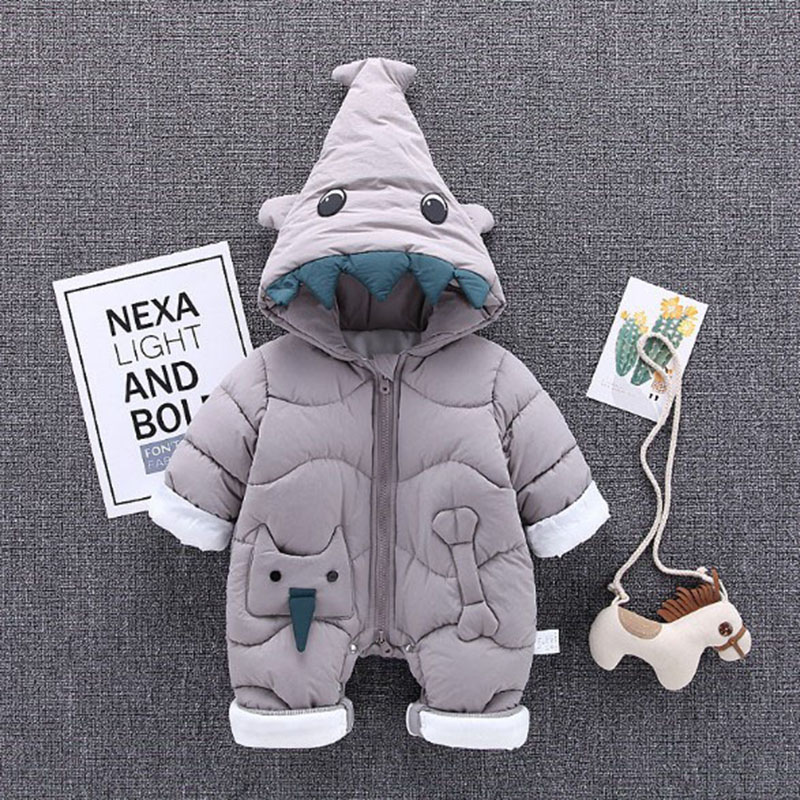 Born Baby Conjoined Climb Clothes Baby Boy Winter Clothes Warm Cotton Clothes Baby Winter Cartoon For Child's Winter baby girl clothes baby winter suit spring and autumn warm baby boy clothes newborn fashion cotton clothes two sets of underwear