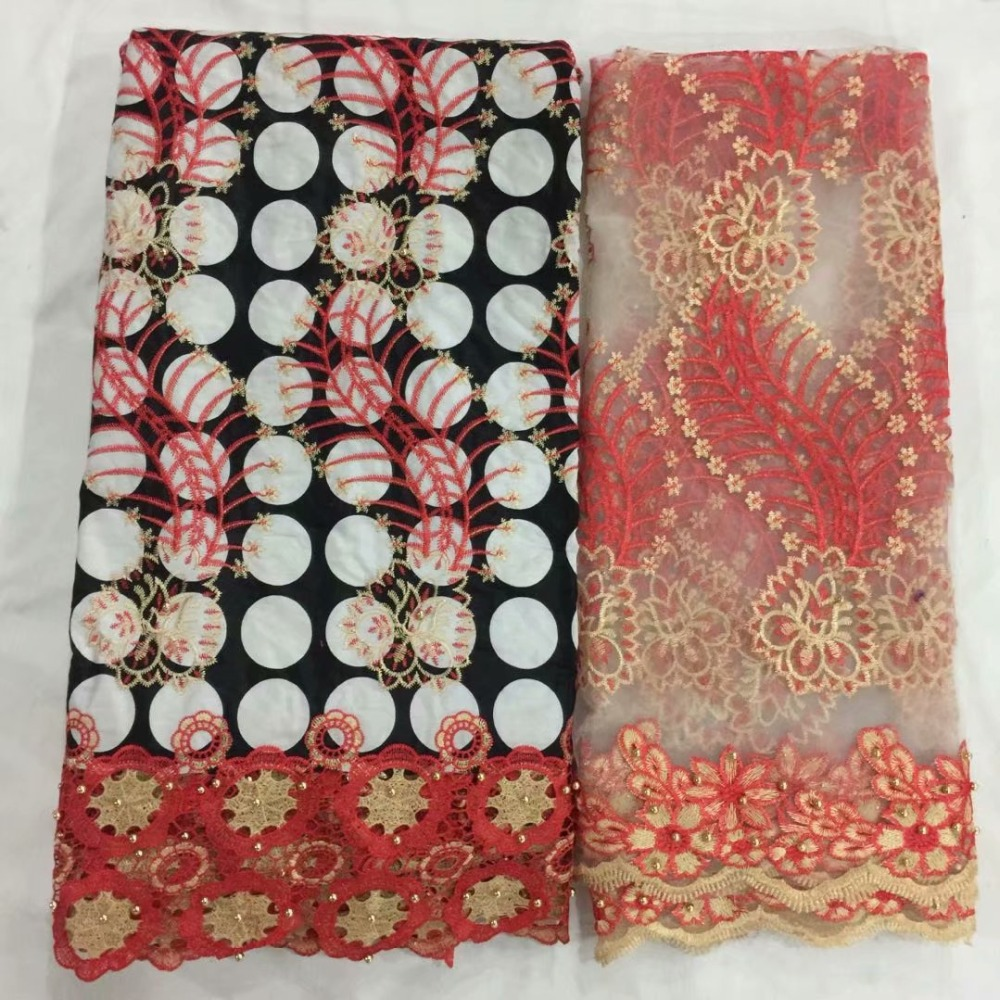 Ebay Motors African Lace Fabric 3d Lace Beads Cotton Lace Fabric African Real Wax Print Stoffen Per Meter Voor Kleding Nigeria Apparel & Merchandise