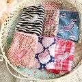 A brasão 6 pçs/lote teen girl underwear-mulit cores lindas calças meninas underwear crianças calcinhas de algodão macio para meninas