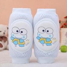 Crianças Menina Menino Toddlers Bebê Engatinhando Cotovelo Knee Pads Protector Segurança Joelheira Malha Leg Warmer Crianças almofada Legging Crianças