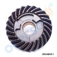 Boot Motor 3C8-64010-1 Getriebe Für TOHATSU NISSAN 40-50 HP NS40D2 3C8-64010-0 3C8-64010-1 24 T