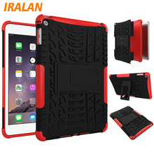 Tablet Case For Apple iPad mini 4 case Hybrid Armor Kickstand Hard Case For