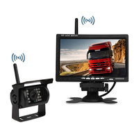 7 Inch Car Wireless Rear View Monitoring System Bus Truck Car Rear View System Wireless Car