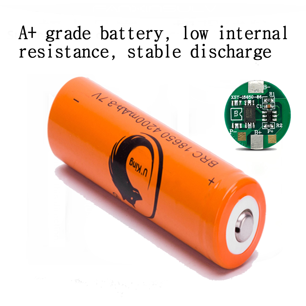3.7v 18650 battery Lithium Rechargeable Batteries + 18650 LCD Multi four Charger 16340 14500 CR123A Charger Flashlight batteries