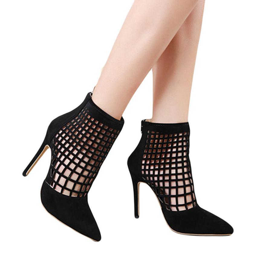Toe Cortas Botas Plástico Atractivas Diamantes 16 Mujeres De Peep Zapatos Mujer Alto Tacón Sandalias Nueva 4 2018 qH4AwA