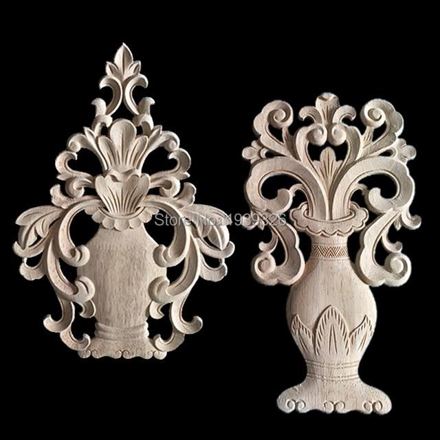 Feng Shui Wood Carving Applique Furniture Carve Miniatures Home