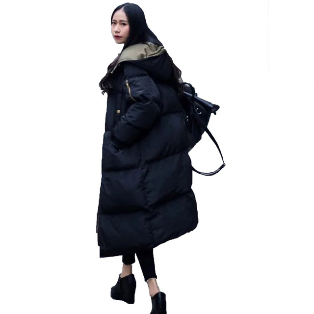 2017 Women's Winter Jacket Long Parka Coat Fashion Warm Outwear ...