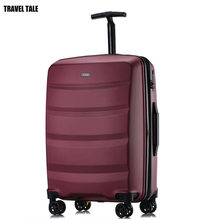 "TRAVEL TALE 20 Inch new cabin Trolleys kinder hand Luggage baggage Spinner travel Suitcase 24""(China)"