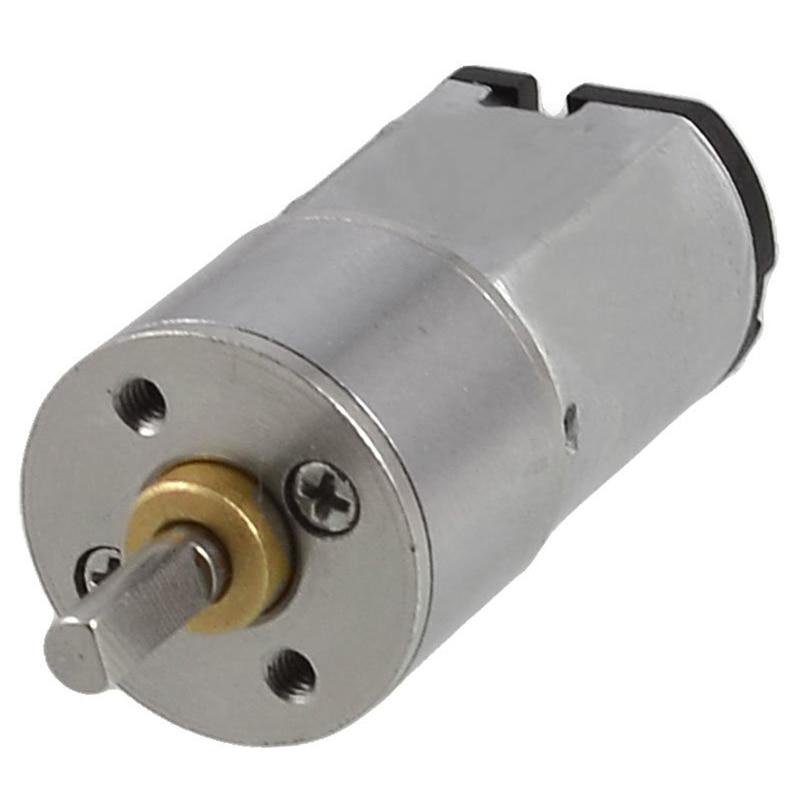3mm Shaft Dia DC 6V 1000RPM 0.4A 16GA Electric Geared Motor