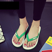 Summer Slippers Women Shoes Beach Flip Flops Outdoor for Flat with Indoor Female Home Size44