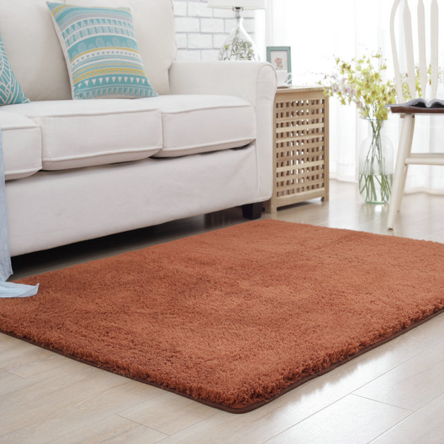 Bedroom Carpets. 200X250CM Solid Plush Soft Carpets for Living Room Warm Home Bedroom  Coffee Table Area Rug