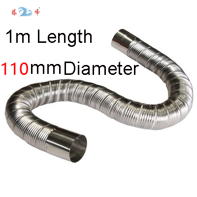 Max temperature resistant 500 degree Celsius stainless steel pipe1m length 110mm diameter 316l stainless steel wire soft diameter 1mm length 5 meter