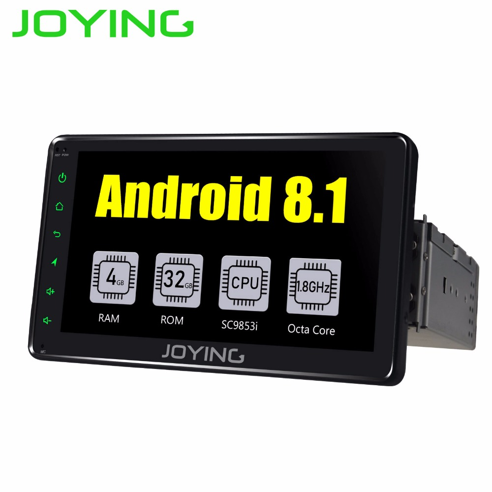 "Single DIN 7 ""4GB Android 8.1 Universal Car Radio Stereo Octa Core DSP Hovedenhed GPS Navigation FM-afspiller Support SIM-kort Zlink"