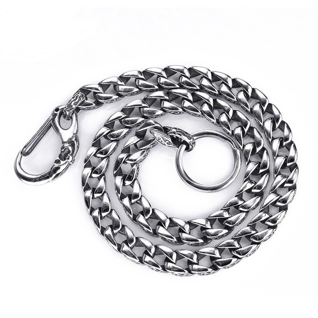 Fashionable pants men dress collocation chain Contracted tide restoring ancient ways men's accessories