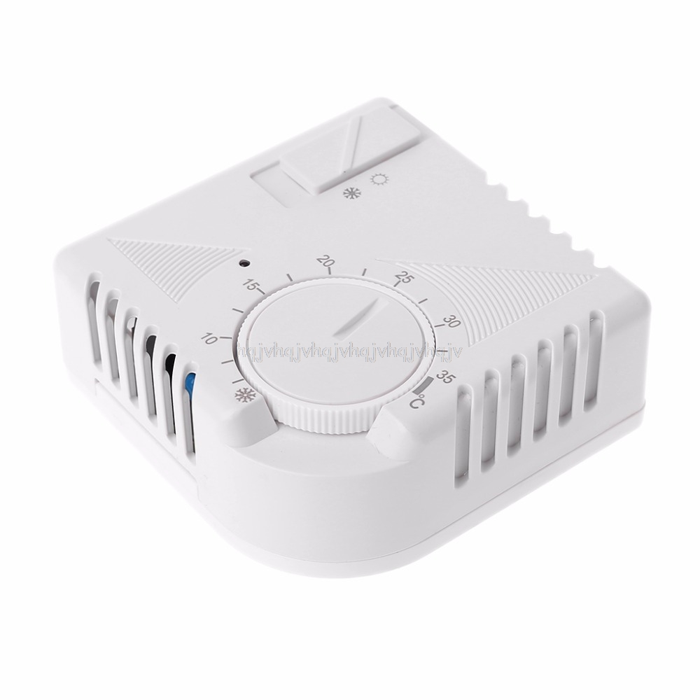 Universal Room Thermostat Energy Save Mechanical Temperature Controller W Switch My06 19 Dropship