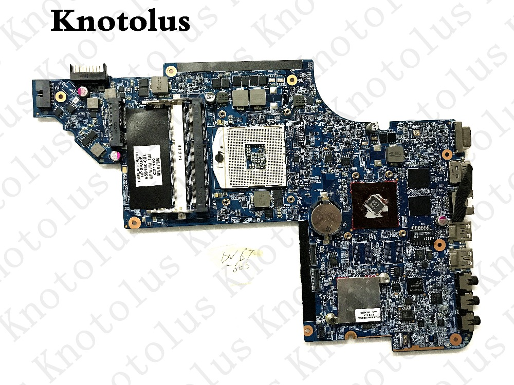 659150-001 motherboard for hp dv6 dv6-6000 laptop motherboard ddr3  Free Shipping 100% test ok free shipping 659151 001 for hp pavilion dv6 dv6t dv6 6000 laptop motherboard hm65 chipset hd 6490 1g 100% tested ok