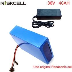 36V 40Ah akumulator litowo-jonowy 36V 600W gigantyczny akumulator rowerowy do Bafang BBS02 z ładowarką BMS do komórki Panasonic
