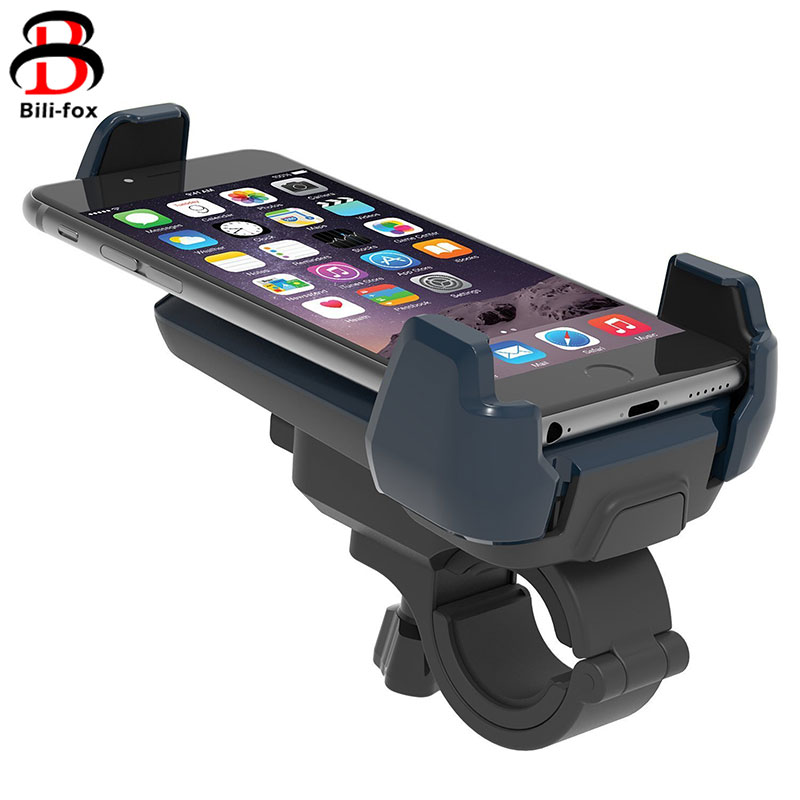 Adjustable Cell Phone Holder Motorcycle Bike Handlebar Mount Stand Bracket