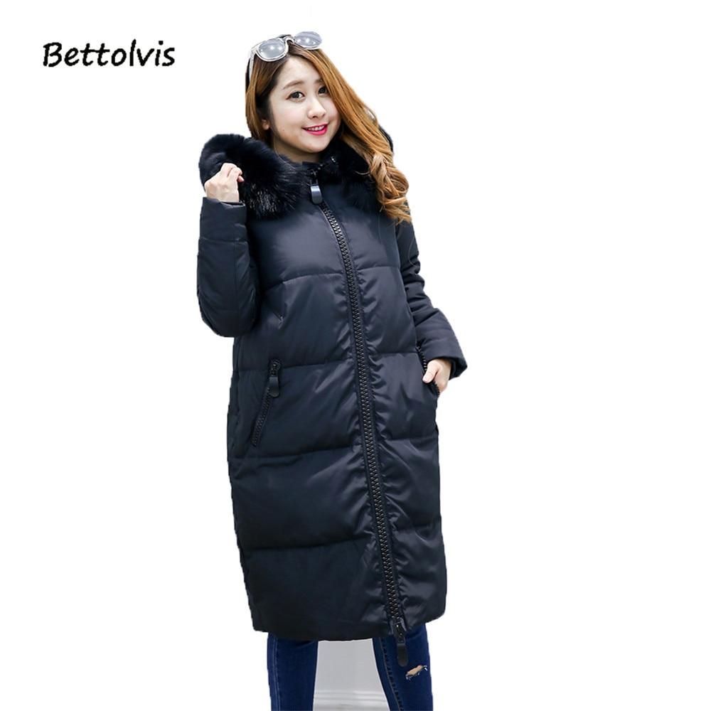 2018 Nouvelle veste d'hiver plus-taille grande taille 8xl 9xl 10XL vers le bas veste BP6999 femmes manteaux de fourrure d'âge moyen plus la taille chaud Collection