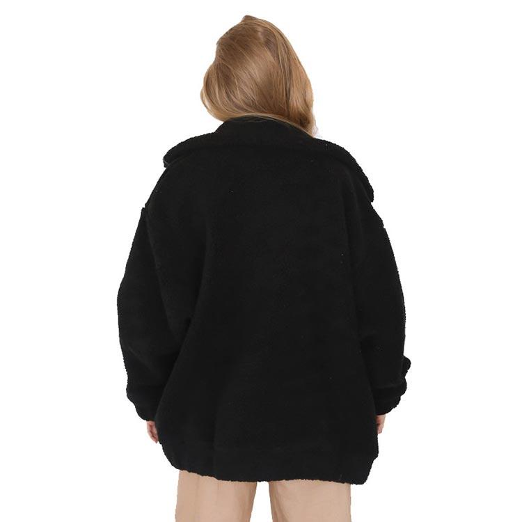 HTB1V6dEaojrK1RkHFNRq6ySvpXat Autumn winter jacket female coat 2019 fashion korean style plus size women teddy fur coat female casual jacket woman pusheen
