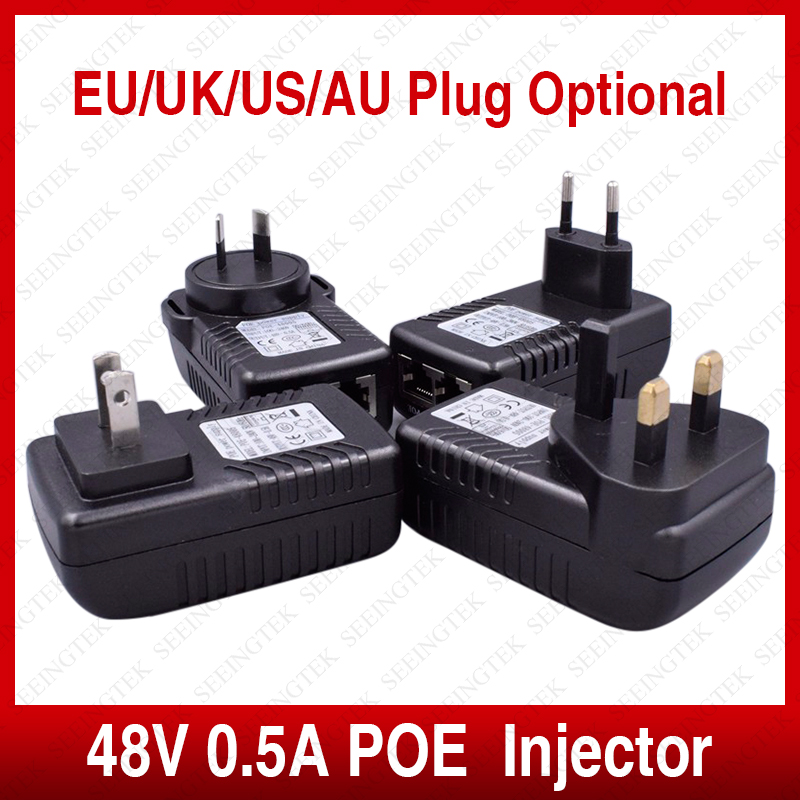 Active 48V0 5A POE Injector CCTV IP Camera Power Over Ethernet Injector POE Switch Ethernet Power