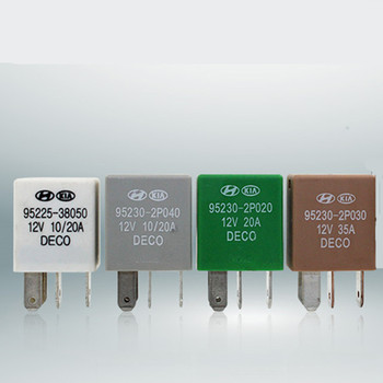 цена на 2PC Car Violet Relay for KIA 12V 10A 20A 35A 50A 4Pin 5pin  DECO  Power Relay Assembly