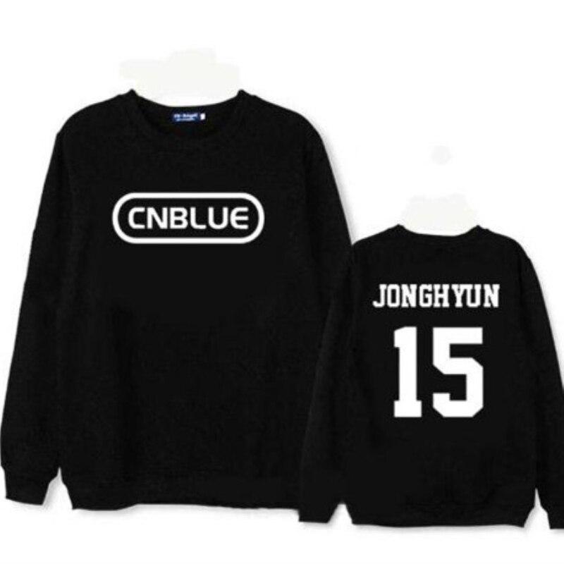 Mainlead Kpop CNBLUE Merchandise Unisex Hoodie JungShin Jumper Pullover YongHwa