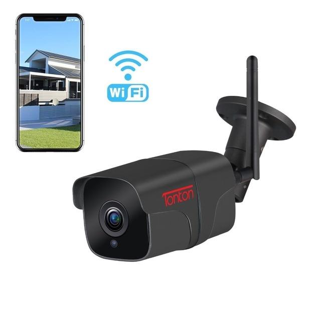 Tonton wifi macchina fotografica del IP esterna A Due Vie Audio 1080P 720P impermeabile senza fili di sicurezza del metallo della macchina fotografica record di carta di TF p2P Sony Sensore