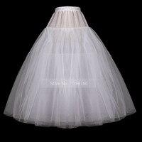 2017 A Line Trắng Tull Petticoat Khung Làm Cái Vái Phùng cho Đám Cưới Dress Giá Rẻ Trắng Chất Lượng Tốt Ngà Petticoat