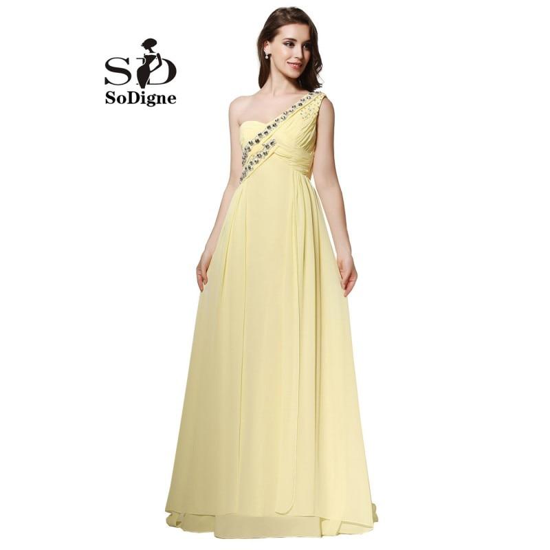 Online Get Cheap Yellow Elegant Prom Dress -Aliexpress.com ...