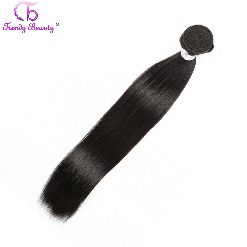 Trendy Beauty Peruvian Straight Hair Can Buy 3 and 4 Bundles 100 % Human Hair Weave Bundles Non-Remy Hair Extensions Free Ship