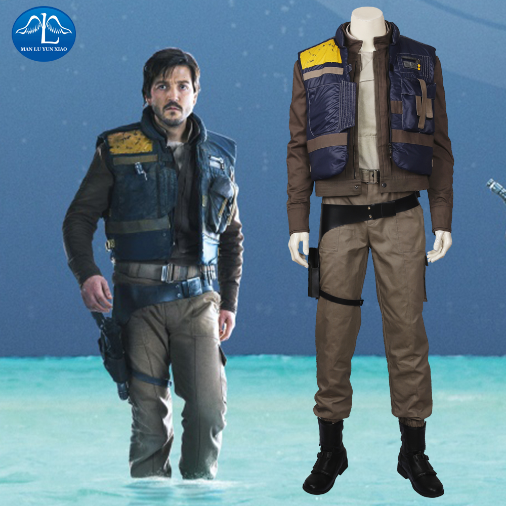 MANLUYUNXIAO Rogue One: A Star Wars Story Cassian Andor Cosplay - Kostum karnival