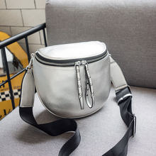 REALER crossbody bags for women fashion shoulder bag soft artificial leather messenger bag ladies high quality(China)
