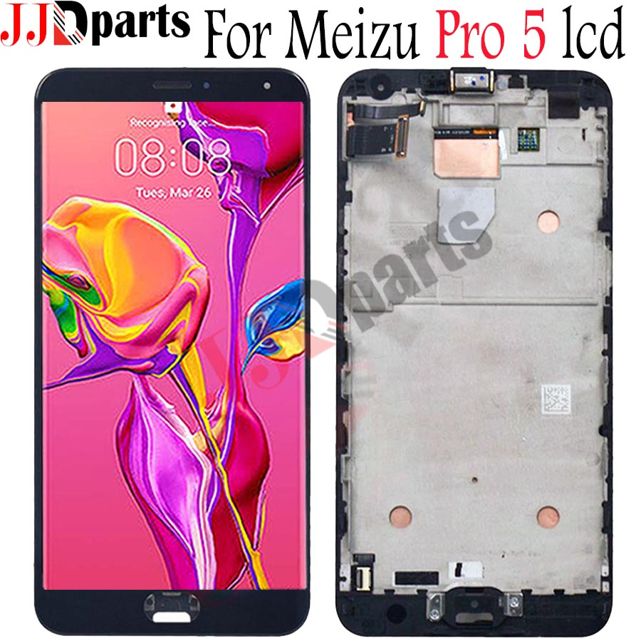NEW 1920*1080 For Meizu Pro 5 LCD Display Touch Screen Digitizer Assembly with Frame For Meizu pro5 pro 5 LCD Screen ReplacementNEW 1920*1080 For Meizu Pro 5 LCD Display Touch Screen Digitizer Assembly with Frame For Meizu pro5 pro 5 LCD Screen Replacement