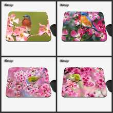 Mruige Color Flower Bird Design Mouse Pad 22*18/25*0/29*25CM Home Decoration Game Mouse Pad for Office Notebook Computer Games
