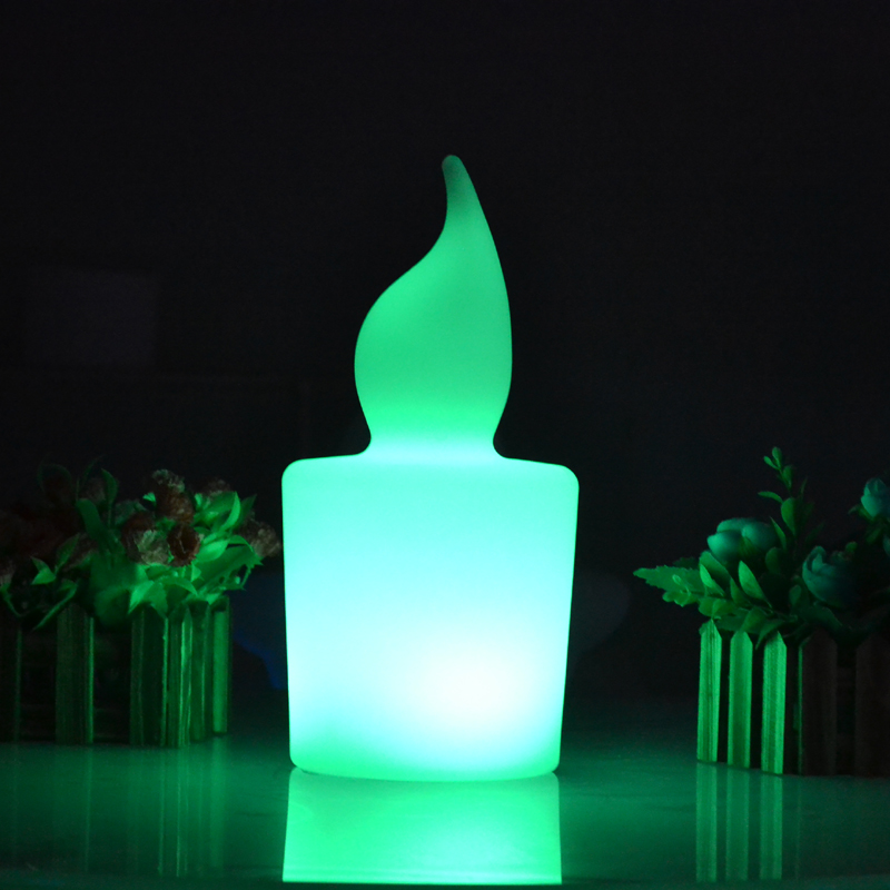 Waterproof illuminated Big colorful LED candle light height 28cm 110/220V Rechargeable flash candle lamp with remote controllerWaterproof illuminated Big colorful LED candle light height 28cm 110/220V Rechargeable flash candle lamp with remote controller