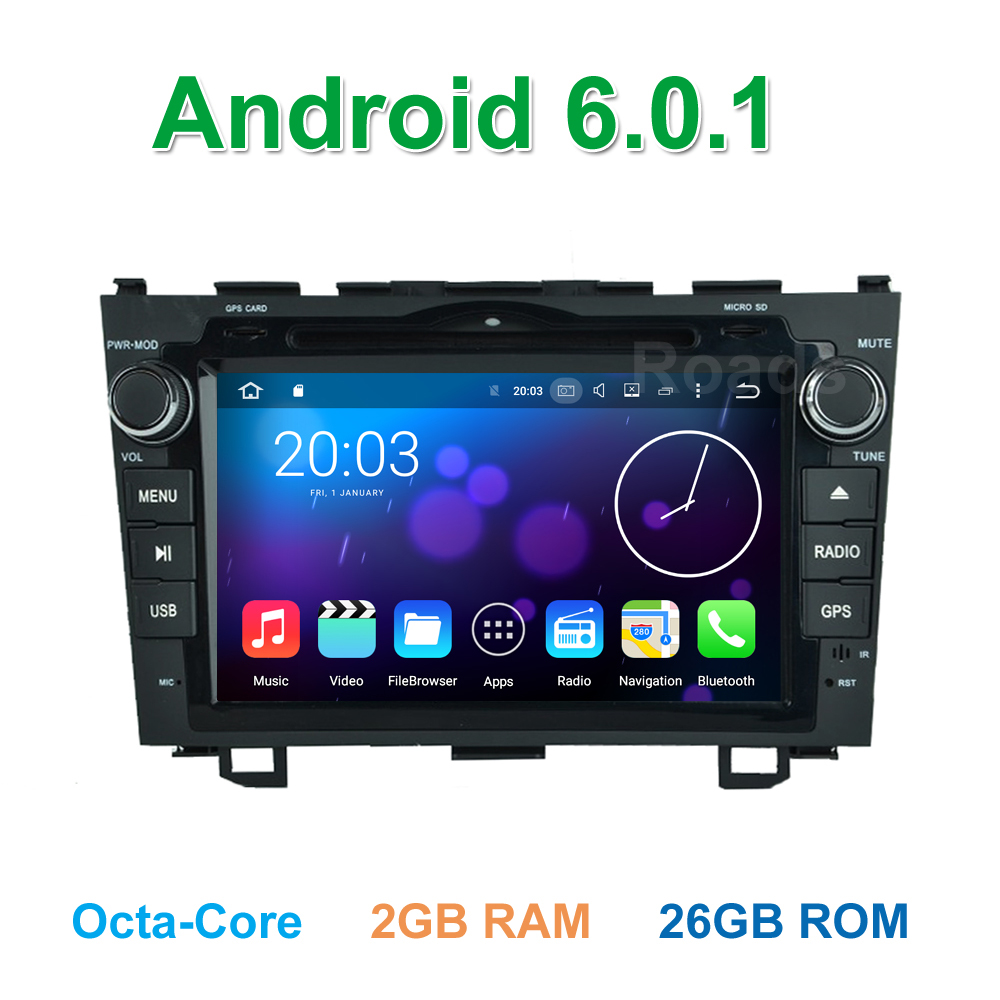 Octa Core font b Android b font 6 0 Car DVD Player for Honda CR V