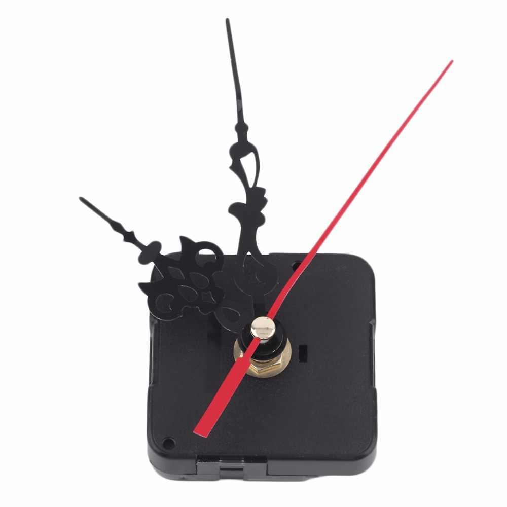 Kit de piezas de herramientas de reparación DIY mecanismo de movimiento de reloj de pared de cuarzo profesional y práctico con manos azules