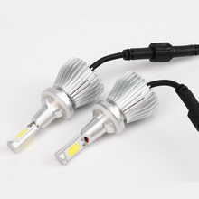 Led 880/881 H27 Xenon White 6000K Car LED Headlights Conversion Lamp Kit External Light Headlamp Universal Fit Car Led Bulb
