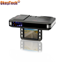 OkeyTech Anti Radar Detectors 2 In 1 Car DVR GPS Camera Logger Dash Cam Radar Detector
