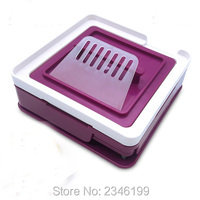 1Set 100Holes Empty Size 0# Capsule Filling Machine, Purple Basic/Upgrated Version Capsule Powder Refillable Filler