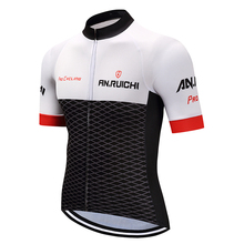 Мужская Летняя велосипедная Джерси Одежда для велосипедистов Спортивная футболка с коротким рукавом для верховой езды на заказ/