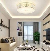 цены Round Children Ceiling Light Living Room Restaurant Bedroom Lamp Modern Simple Crystal Ceiling Lamp For Aisle Corridor Porch