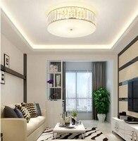 Round Children Ceiling Light Living Room Restaurant Bedroom Lamp Modern Simple Crystal Ceiling Lamp For Aisle Corridor Porch