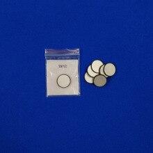 Ультразвуковой Пьезоэлектрический керамический диск 1 МГц 20x2. 07mm-PZT4-B PZT диск кристаллический элемент для Косметологической очистки чипов передатчика