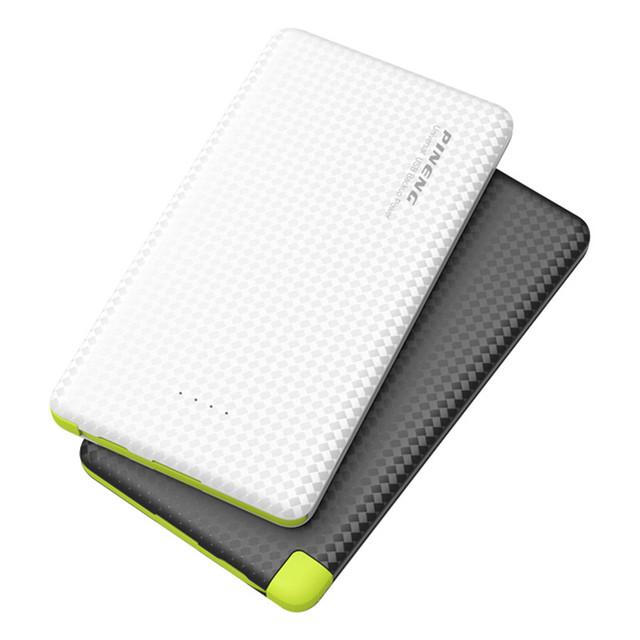Original 5000 mah energía móvil banco de alimentación con indicador led de carga de la batería externa portátil para iphone 6 samsung teléfono inteligente
