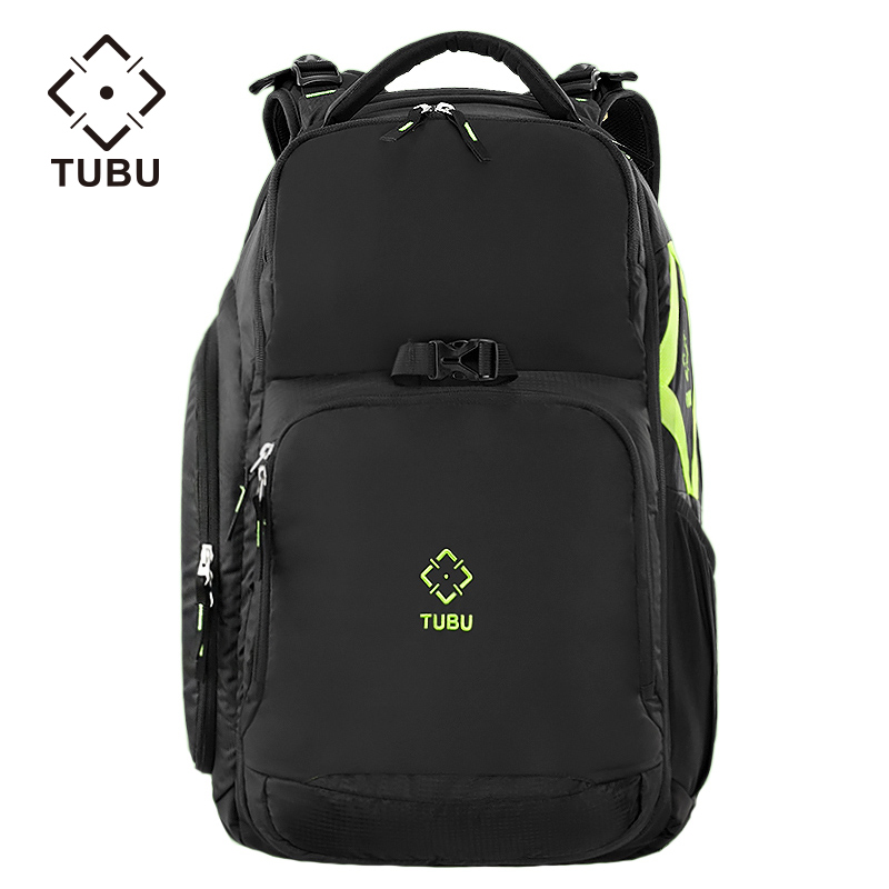 TUBU 6079 Digital SLR camera bag male backpack bag waterproof professional large - capacity camera bag Canon anti - theft yingnuost d66 anti theft multifunctional waterproof backpack digital camera shoulder oxfords with inner bag large capacity