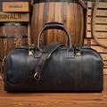 Echtes Leder Reisetasche Männer Travel Duffel big bag Kuh Leder Mann reisetaschen große kapazität Gepäck Wochenende schulter Taschen