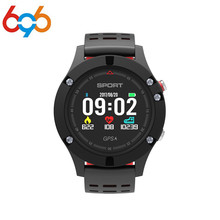696 F5 Gps Smart Watch Altitude Barometer Thermometer Heart Rate Bluetooth 4.2 Smartwatch Wearable Devices For Ios Android